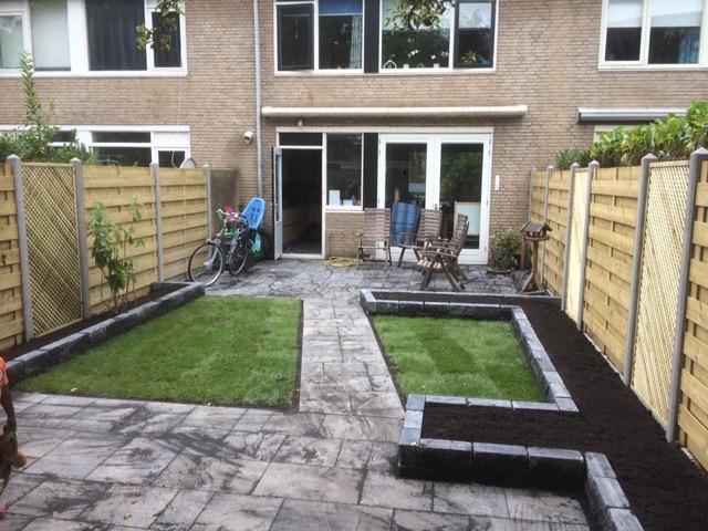 Tuin ontwerp en aanleg inclusief omheining